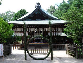 京都にある球技上達のご利益がある神社【白峯神宮】