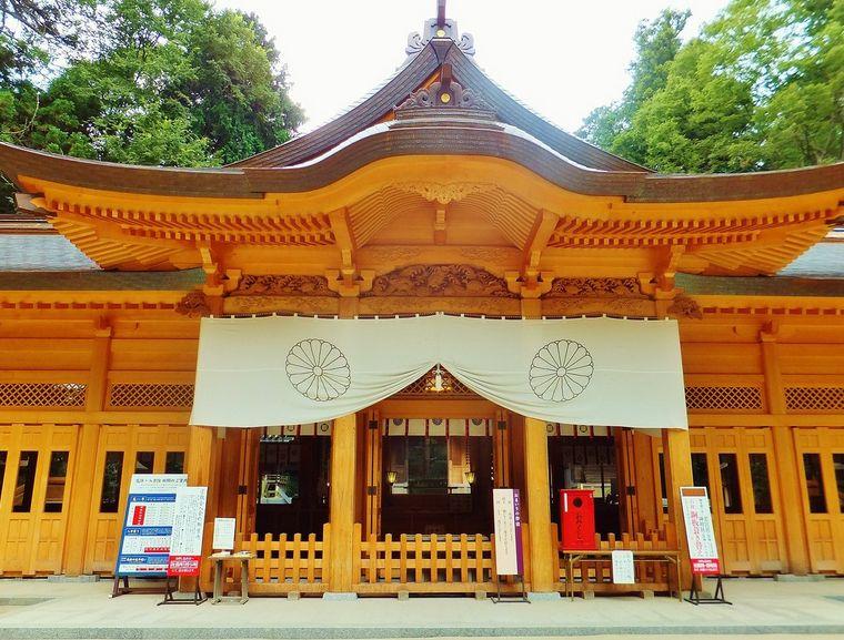 長野県にある旅の安全・交通安全のご利益がある神社【穂高神社】