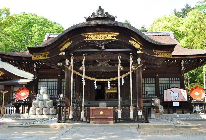山梨県にある勝運にご利益のある神社【武田神社】