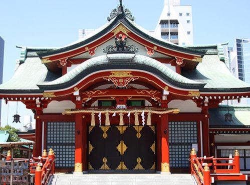 東京にある安産・子育てにご利益のある神社【水天宮】