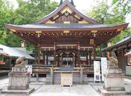 京都にある足腰の健康にご利益がある神社【護王神社】