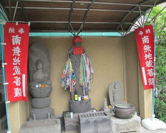 東京都大田区にある恋愛成就の神社【密厳院】のお七地蔵