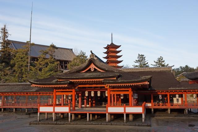 広島県にあるパワースポット神社【厳島神社】