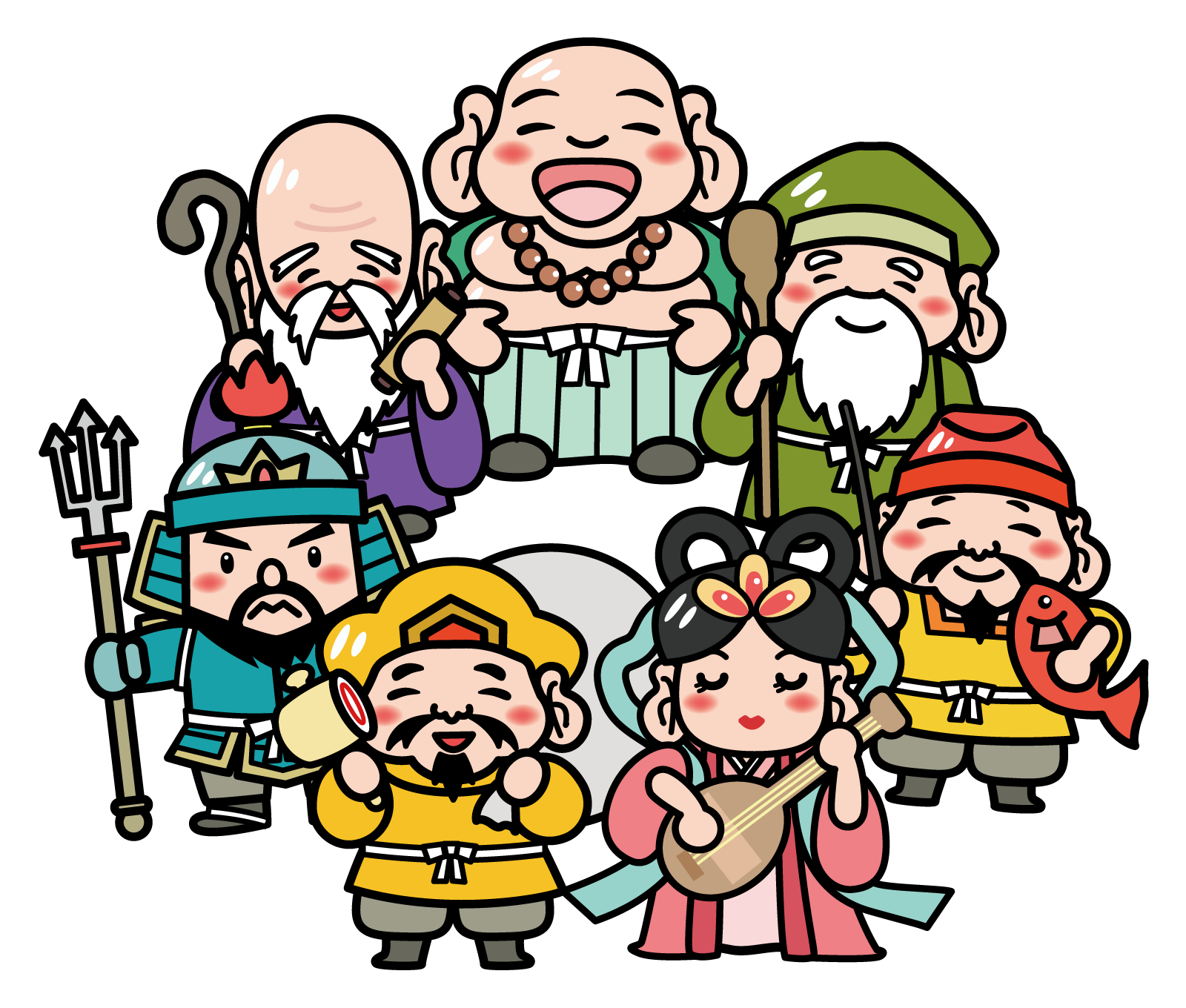 七福神イラスト