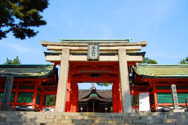 大阪にあるパワースポット神社【住吉大社】