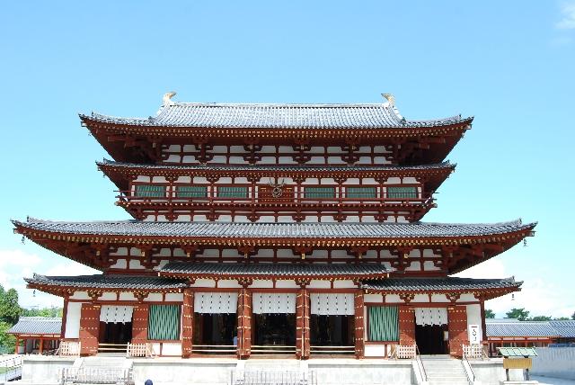奈良県にある病気平癒のご利益がある神社【薬師寺】