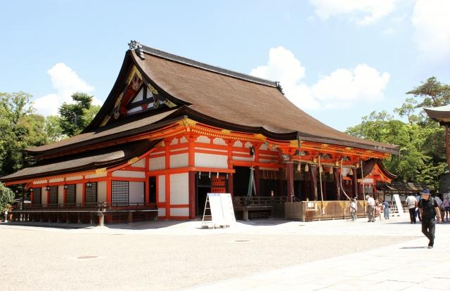 京都にある美人祈願の神社【八坂神社の美御前社】